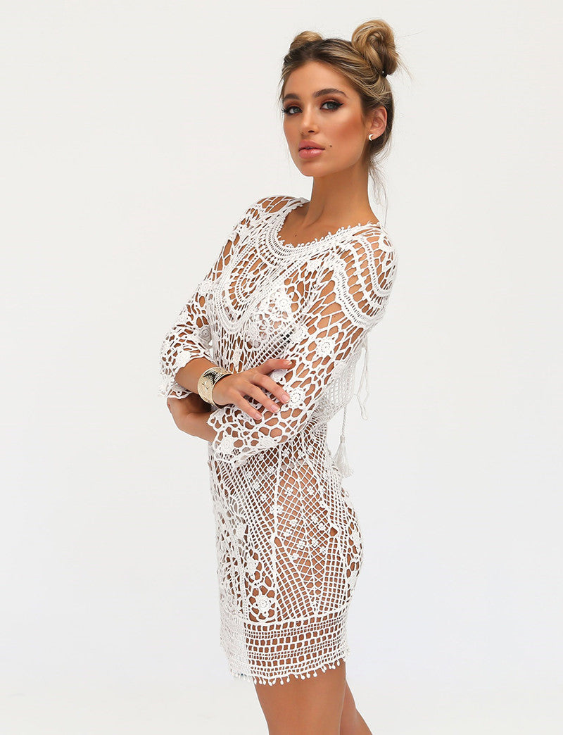 paloma crochet dress