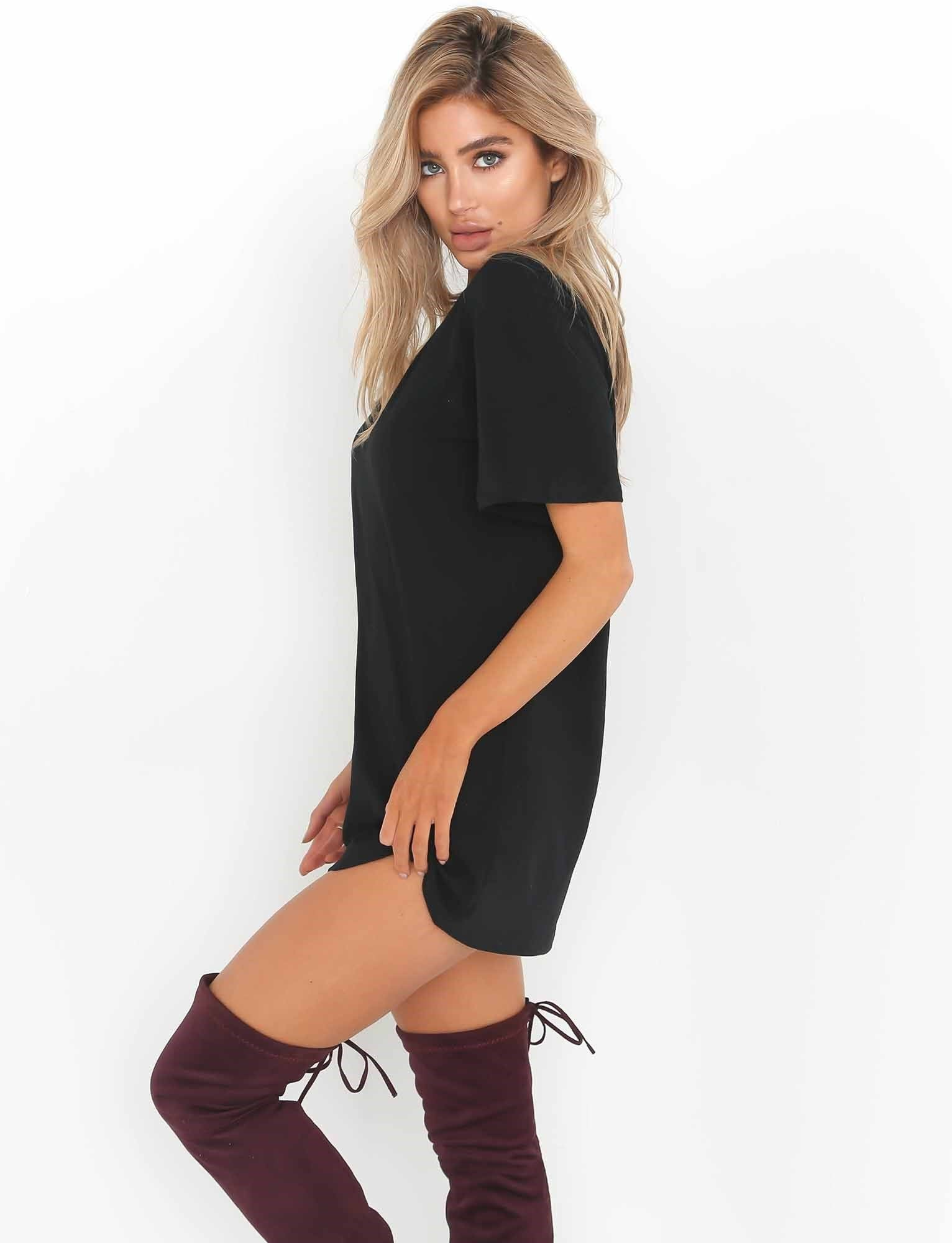 priscilla tee shirt dress