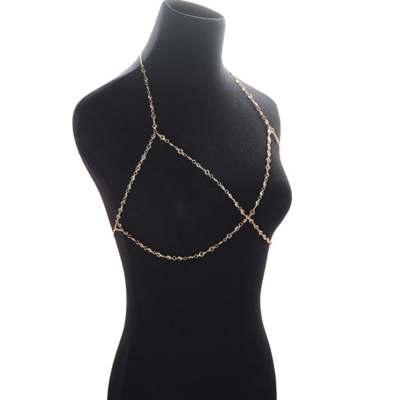Rhinestone Body Harness