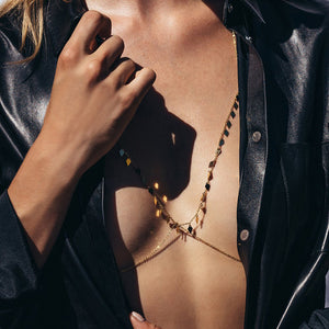 Flair Body Harness with Necklace