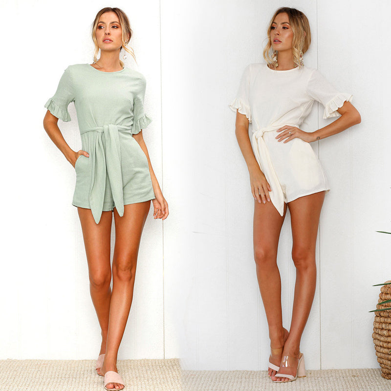 short romper dress