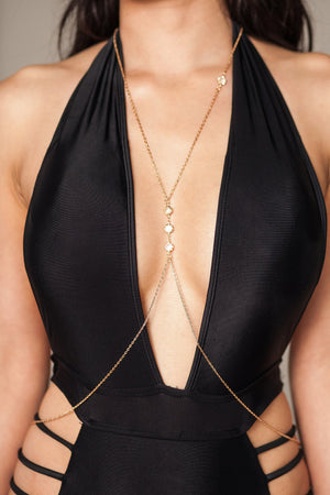 statement body necklace