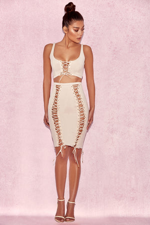 Valentina Two Piece Bodycon Dress Set