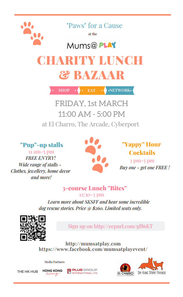 Charity Lunch & Bazar, March 1st
