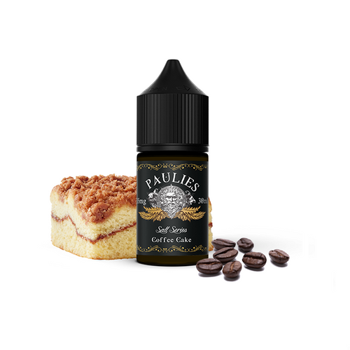 30ml Paulies Coffee Cake Salt nic