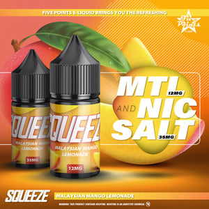 30ml Squeeze Mango MTL 12mg