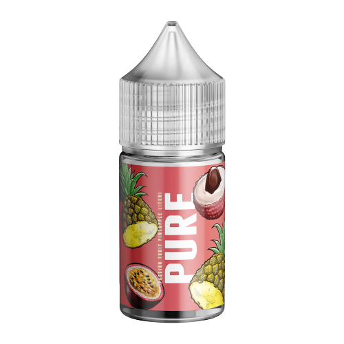 30ml Pure MTL - Passion fruit, Pineapple & Lychee