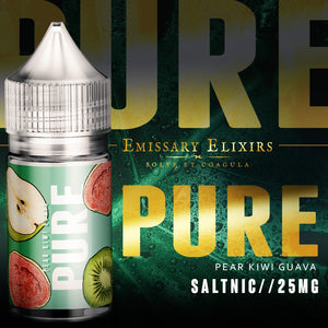 30ml Pure - Pear, Kiwi & Guava Salt Nic