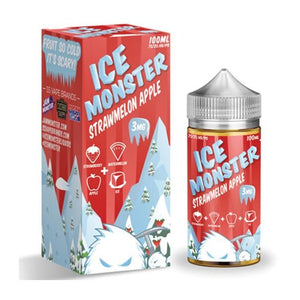 100ml Ice Monster - Strawmelon Apple
