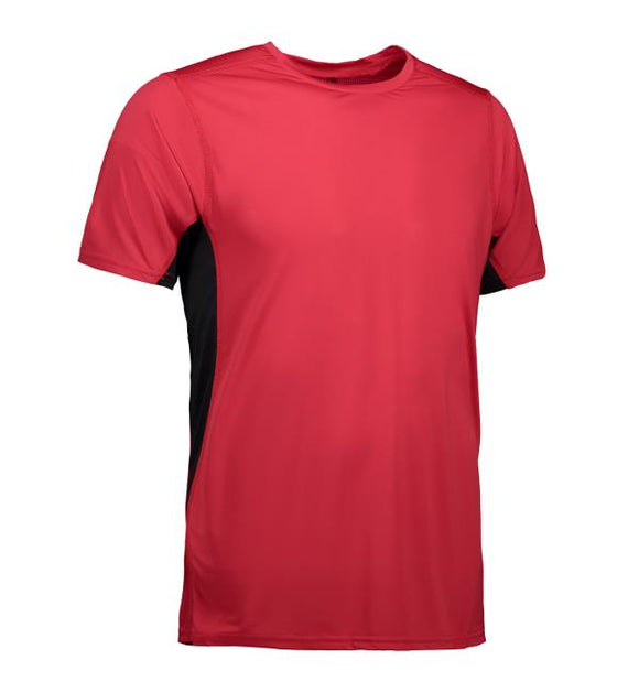 Game active - T-shirt - Rød/Sort