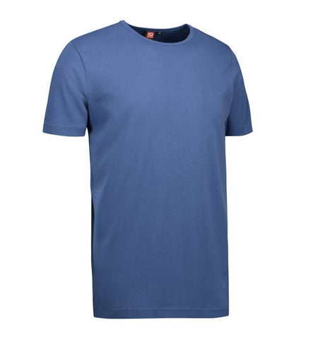 Interlock - T-shirt - Blå
