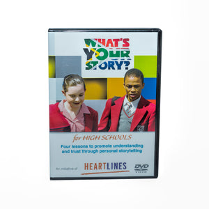 What's Your Story High School DVD