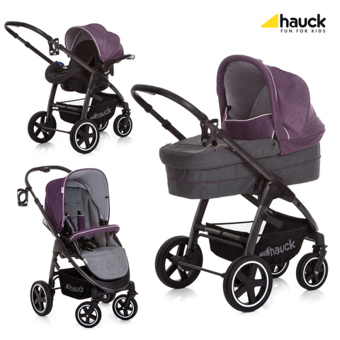 Hauck Soul Plus Trio Set - Berry