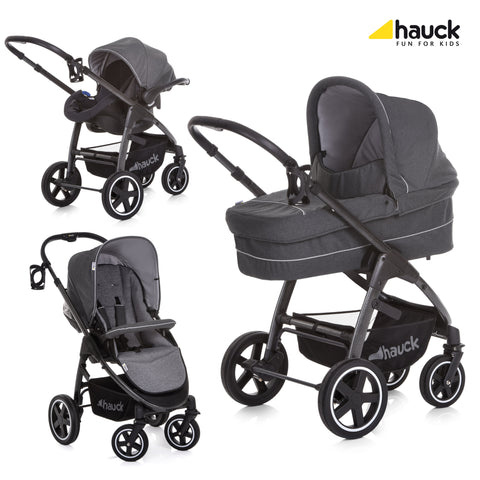 Hauck Soul Plus Trio Set - Beluga
