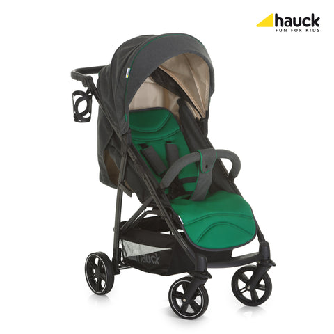 Hauck Rapid 4S Pushchair - Caviar/Emerald