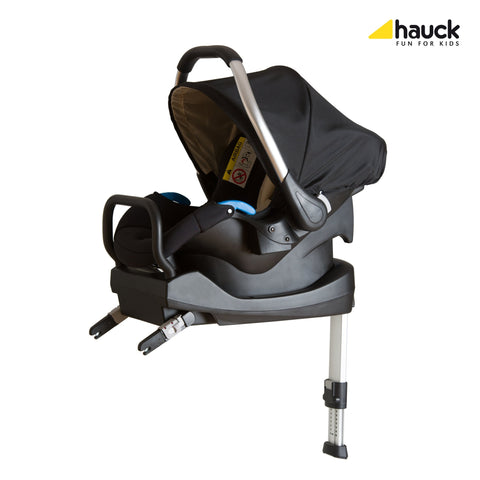 Hauck Comfort Fix Set (Car Seat + ISOfix base) - Black | Car Seat | Prestige Prams