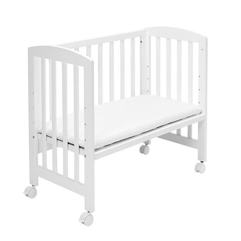 Baby Dan By My Side Crib - White Alfred | Cribs | Prestige Prams