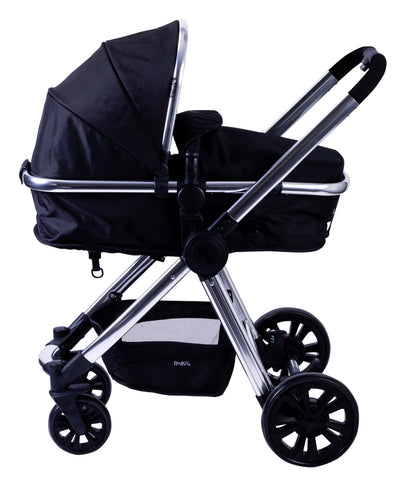 Red Kite Push Me Fusion Travel System - Onyx