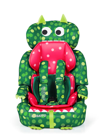 Cosatto Zoomi Group 123 Anti-Escape Car Seat - Dino Mighty