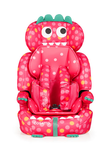 Cosatto Zoomi Group 123 Anti-Escape Car Seat - Miss Dinomite