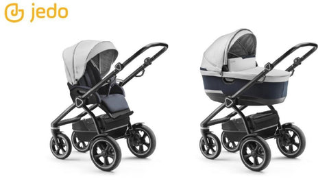 Jedo Trim T-Line 2 in 1 Pushchair - Black Frame - T71 | Pushchair | Prestige Prams
