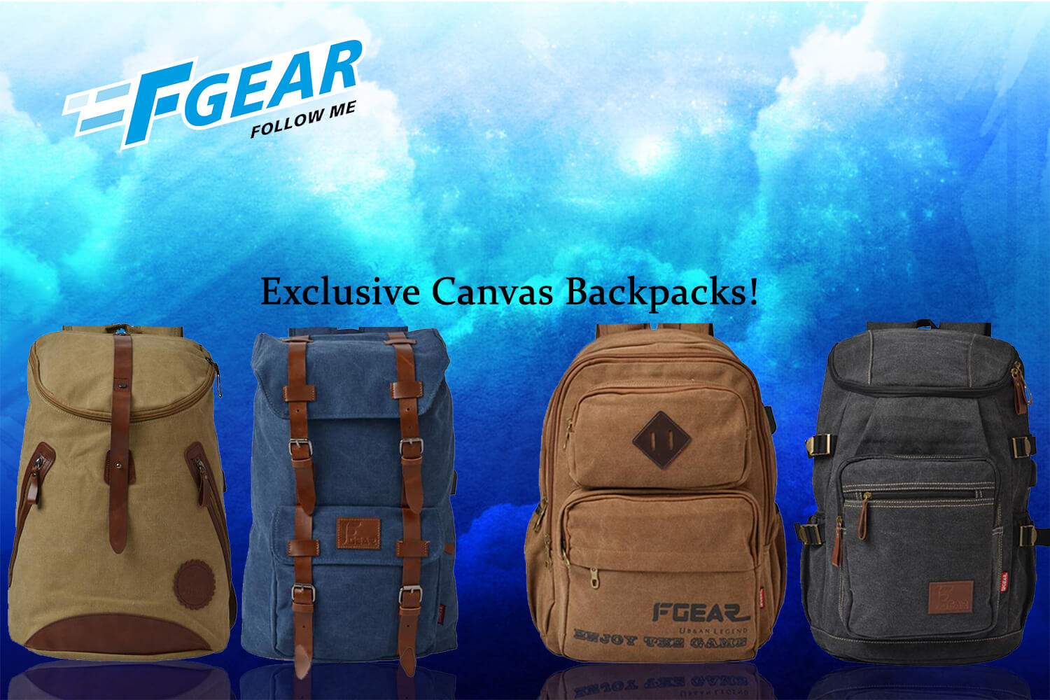 704e6b1a0b Online Shopping of Laptop backpacks   Strolleys from F Gear Best ...
