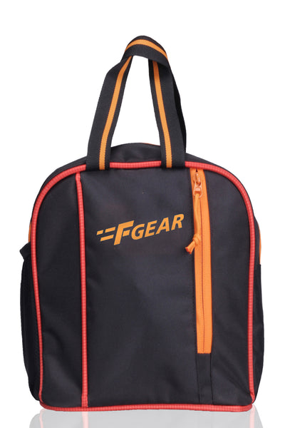 F Gear Gat 6 Ltrs Black, Orange Lunch bag (2424)
