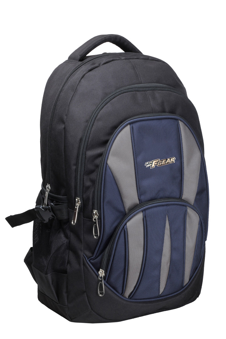 F Gear Adios 32 Ltrs Navy Blue Casual Laptop Backpack (1853)