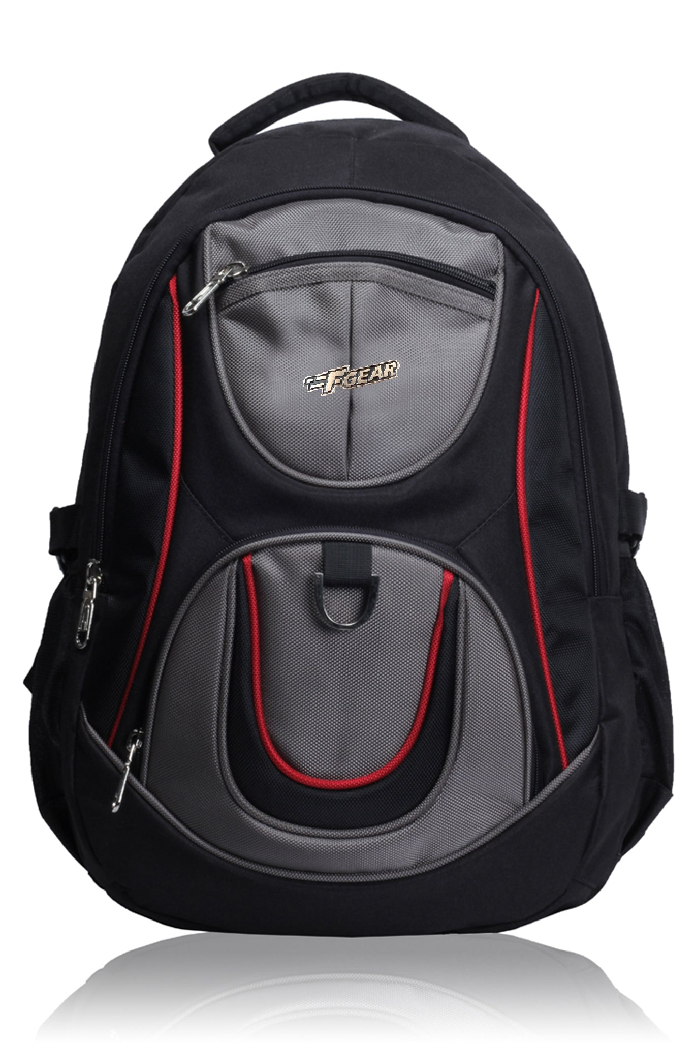 F Gear Axe Black Grey Casual Laptop Bag