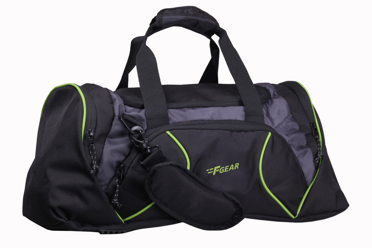 F Gear Metro Polyester 33 Ltrs Grey Travel Duffle (1929)