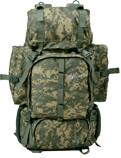 F Gear Military Neutron 50 Ltrs Rucksack (Marpat ACV Digital Camo)