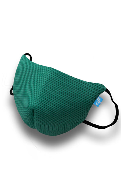 F Gear Coroguard F95 Mask Sea Green Pack of 1 Safeguard 7 layer ISO CE SITRA lab certified >95% Bacteria Filtration