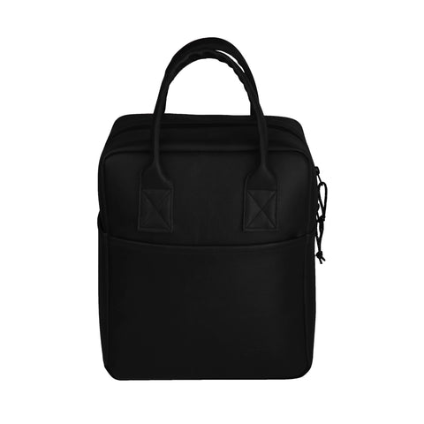 F Gear Modish Black Lunch Tote Bag (3340)