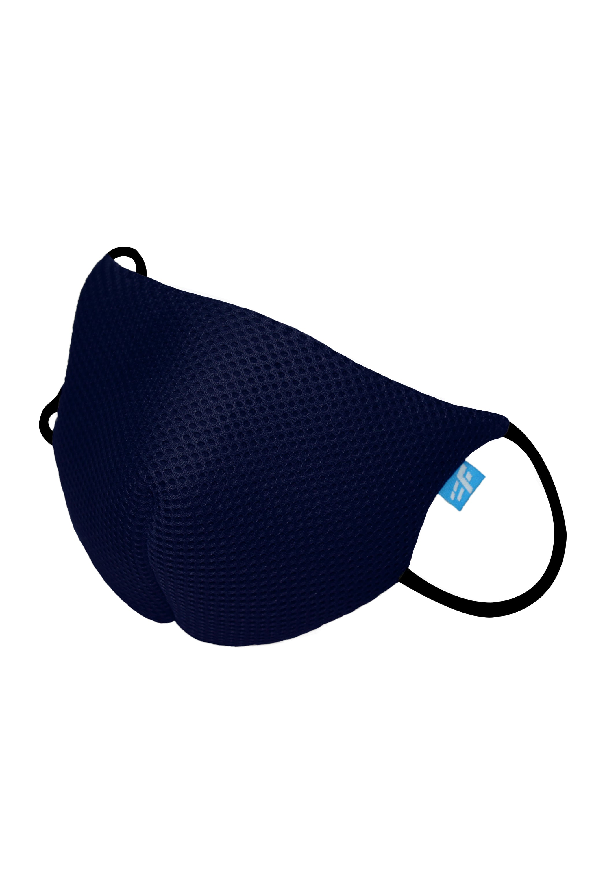 F Gear Coroguard F95 Mask Navy Blue Pack of 1 Safeguard 7 layer ISO CE SITRA lab certified >95% Bacteria Filtration