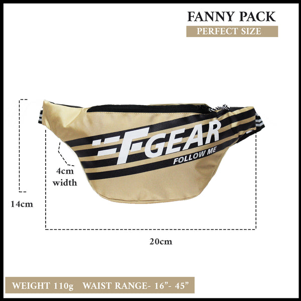 F Gear Enzo Starfish Pavement Sports Waist Bag (3713)