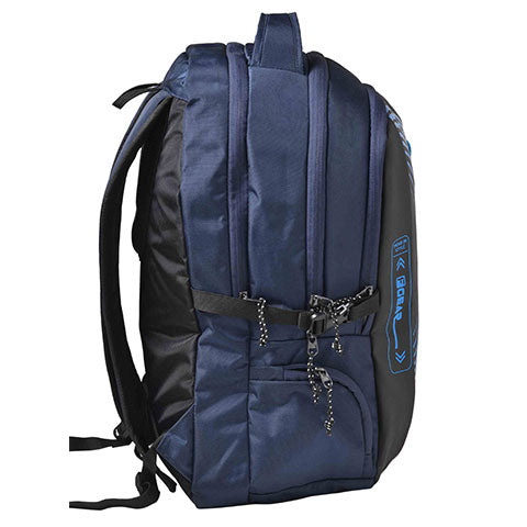F Gear Alchemist Laptop Backpack With Rain Cover 30 Liters, Grey & Blue (2620)