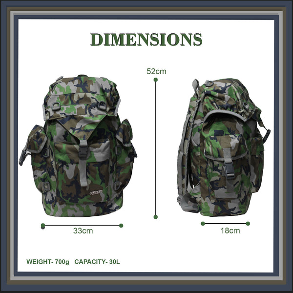 F Gear Fierce Woodland 30 Ltrs Rucksack (3687)