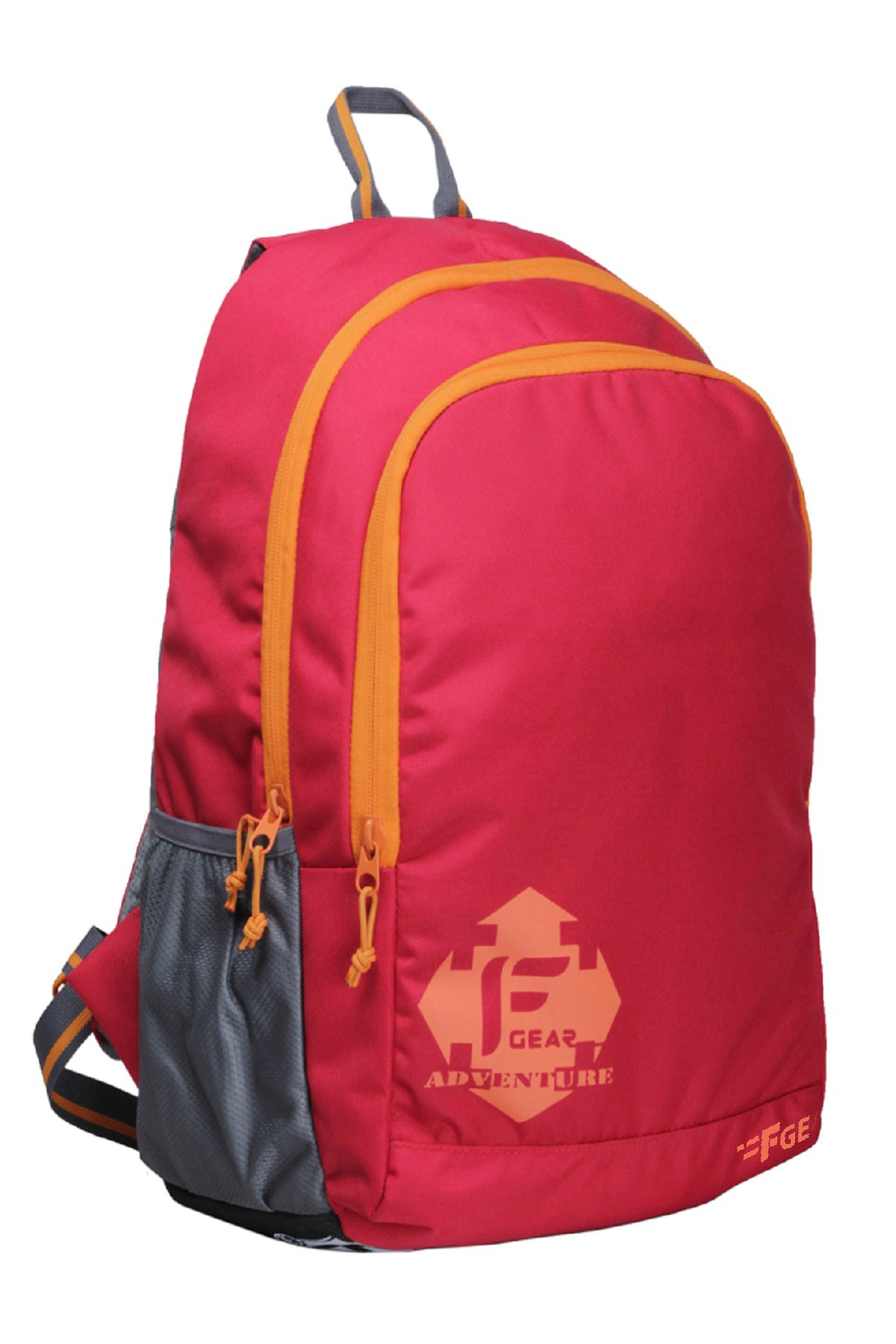 F Gear Castle Rugged Base 27 Liters Red Orange Backpack