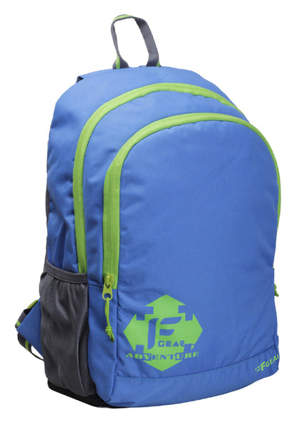 F Gear Castle 20 Ltrs Royal Blue Green Casual Backpack