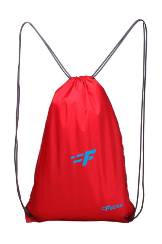 F Gear String 11 Ltrs Nylon Red Gym Bag