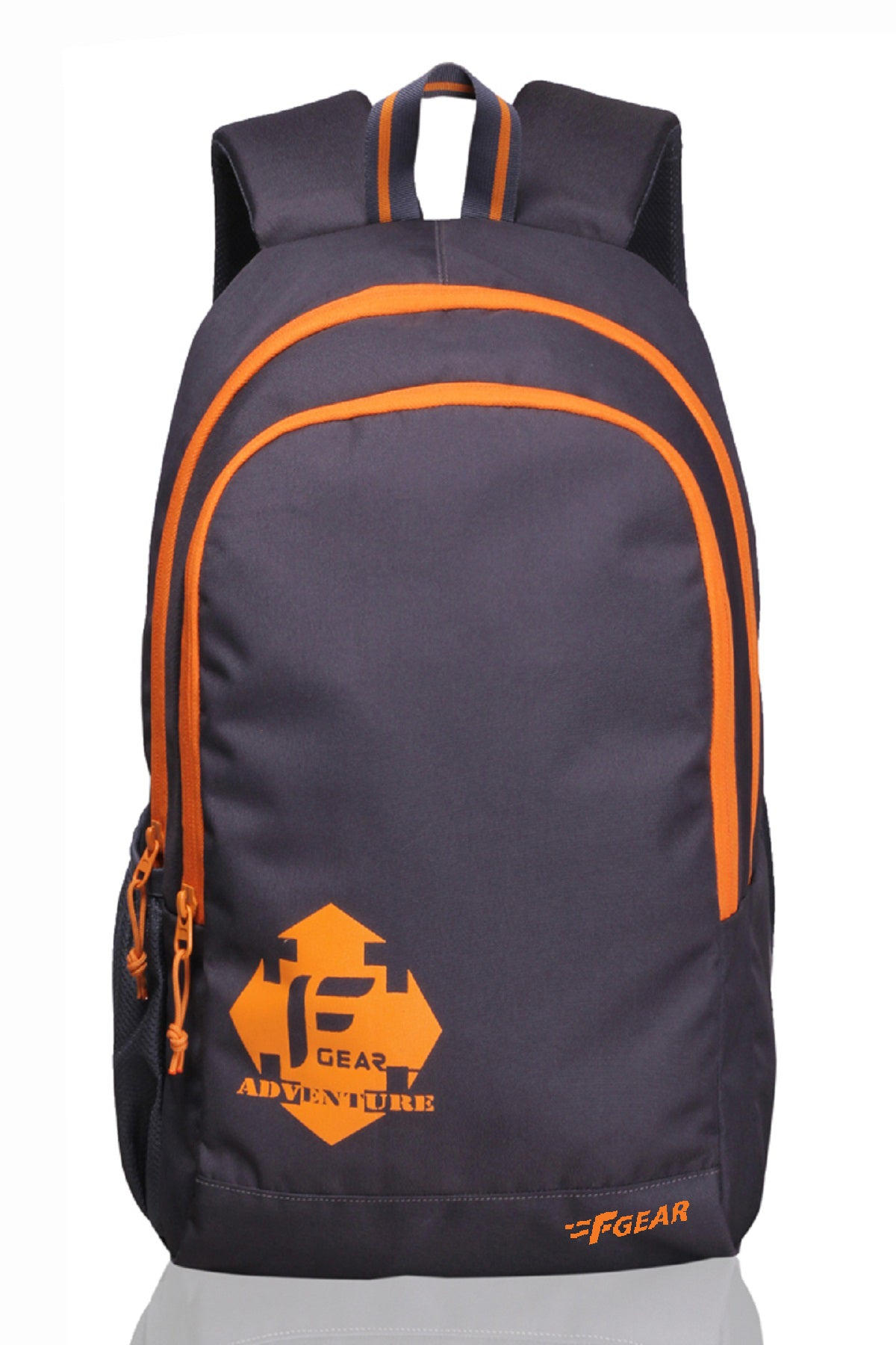 F Gear Castle GO 22 Ltrs Orange Casual Laptop Backpack (2180)