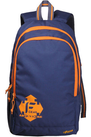 F Gear Castle NBO 24 Ltrs Orange Casual laptop Backpack (2181)