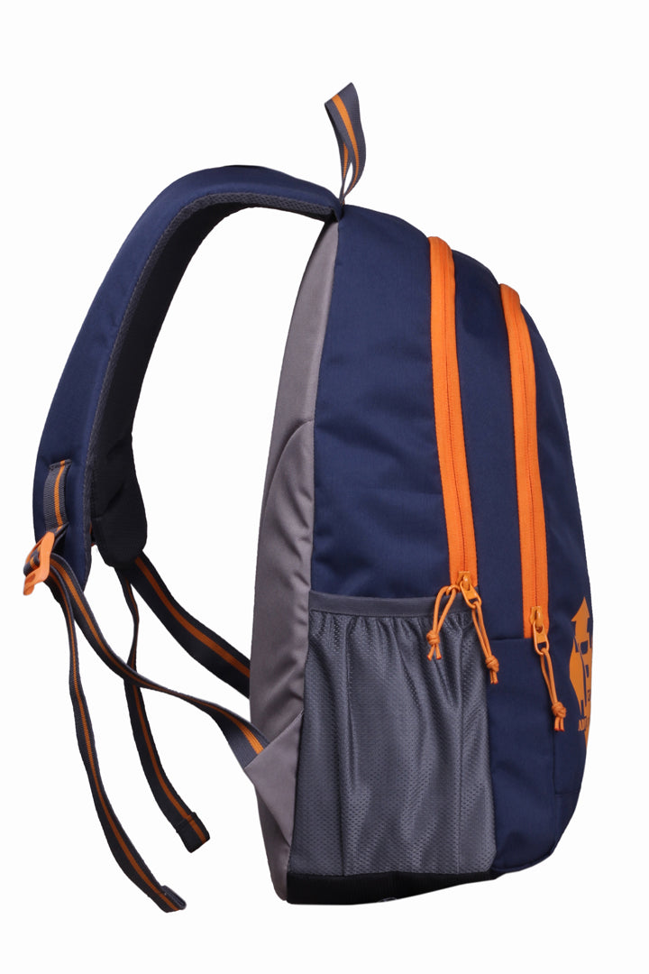 F Gear Castle 24 Ltrs Navyblue Orange Casual Backpack (2181)