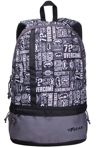F Gear Burner P8 19 Ltrs White Casual Backpack (2184)