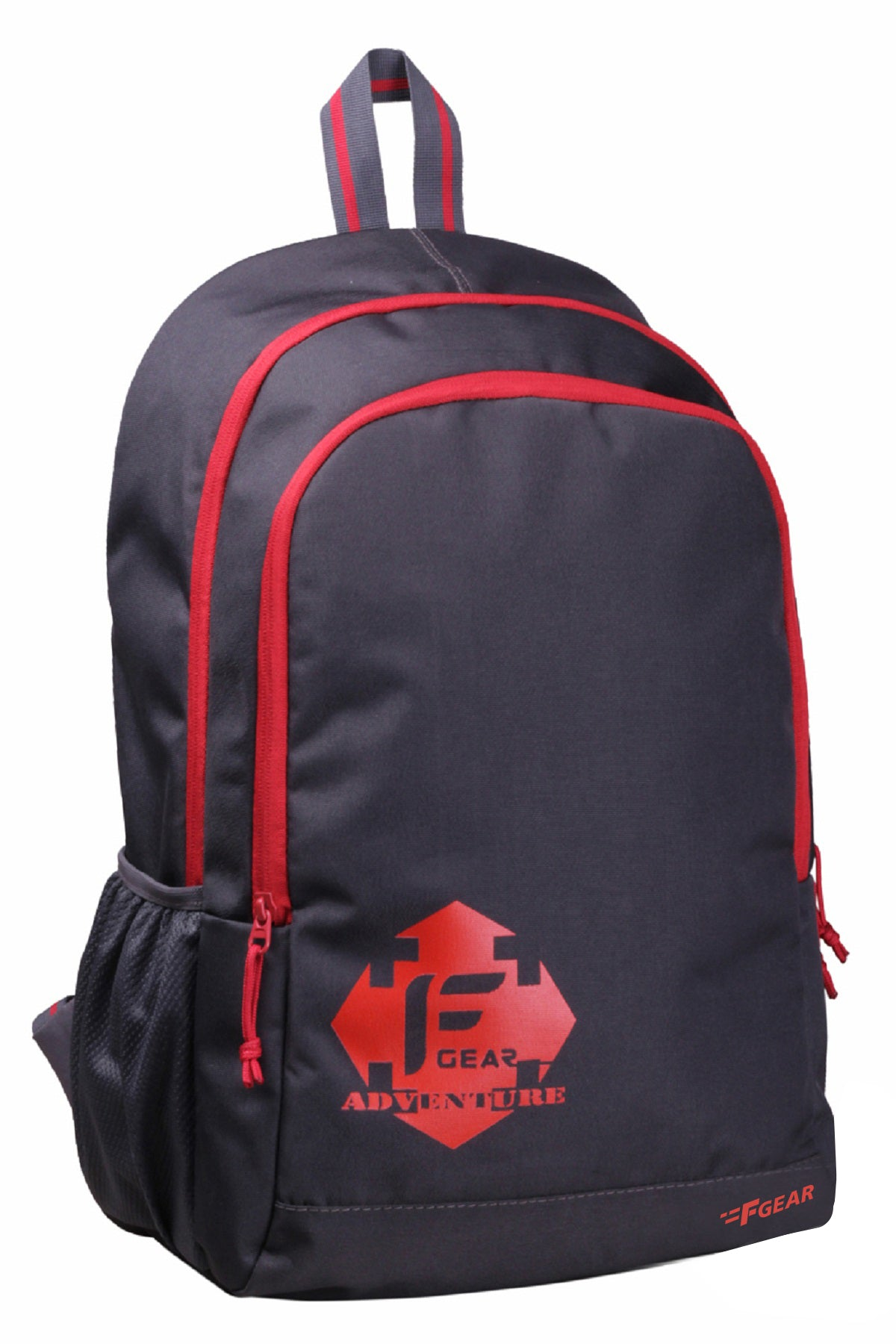 F Gear Castle GR 22 Ltrs Red Casual Laptop Backpack (2263)