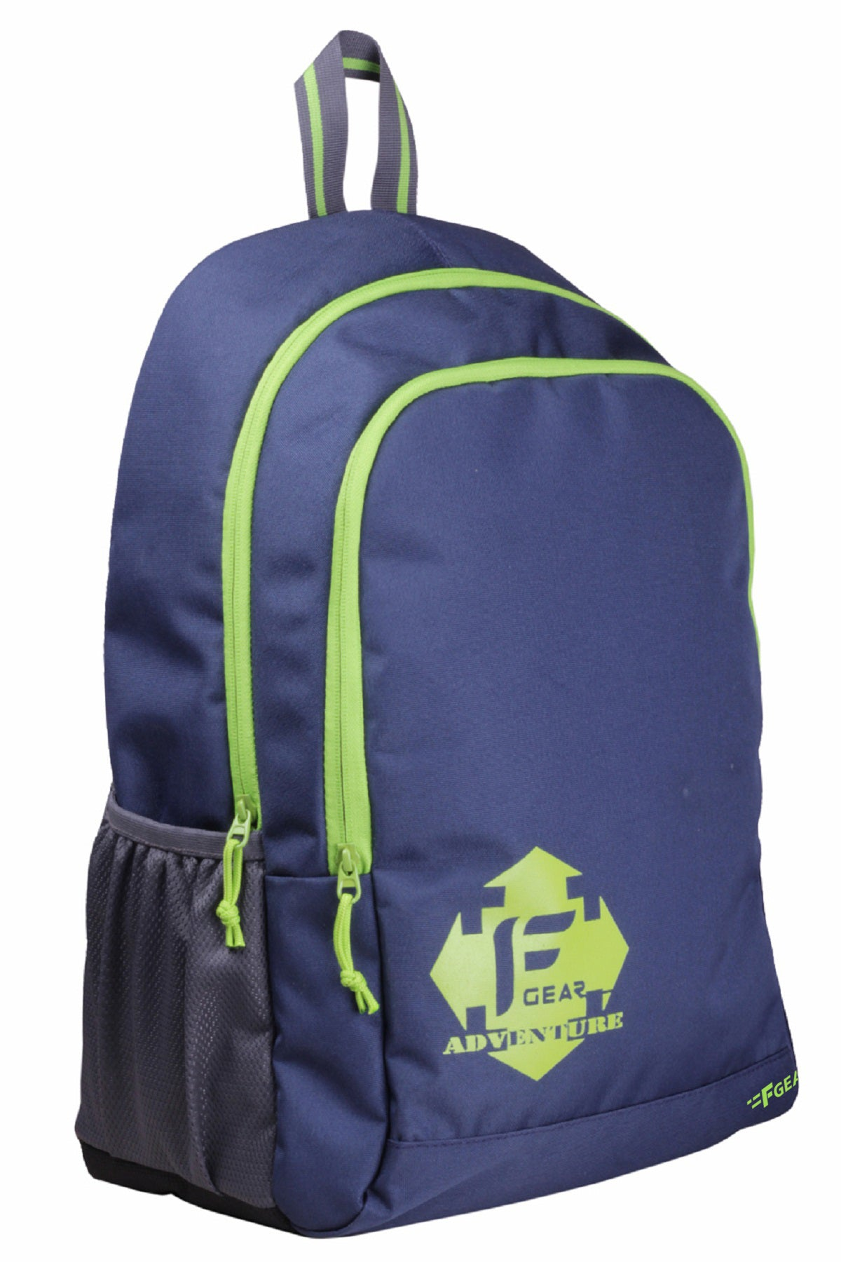 F Gear Castle NBG 24 Ltrs Green Casual Backpack (2264)