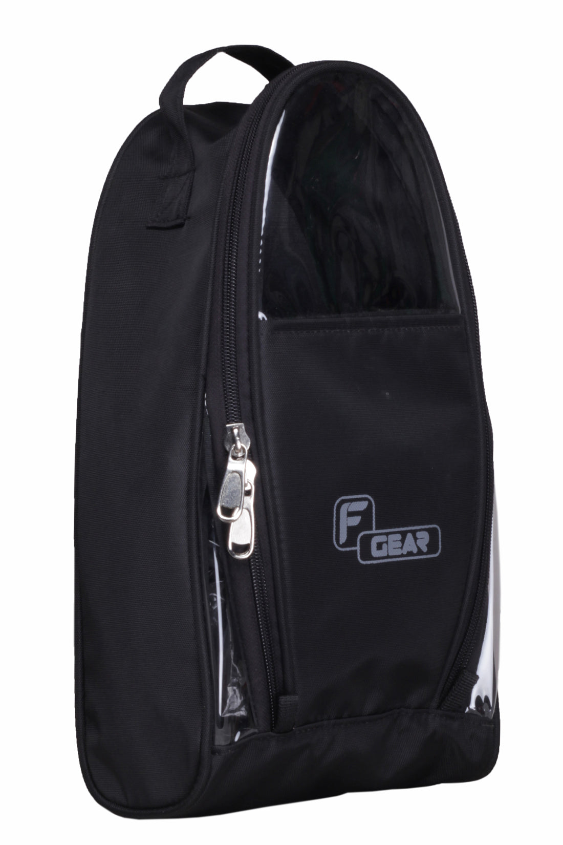 F Gear Supio Polyester 8 Ltrs Black Shoe Bag (2276)