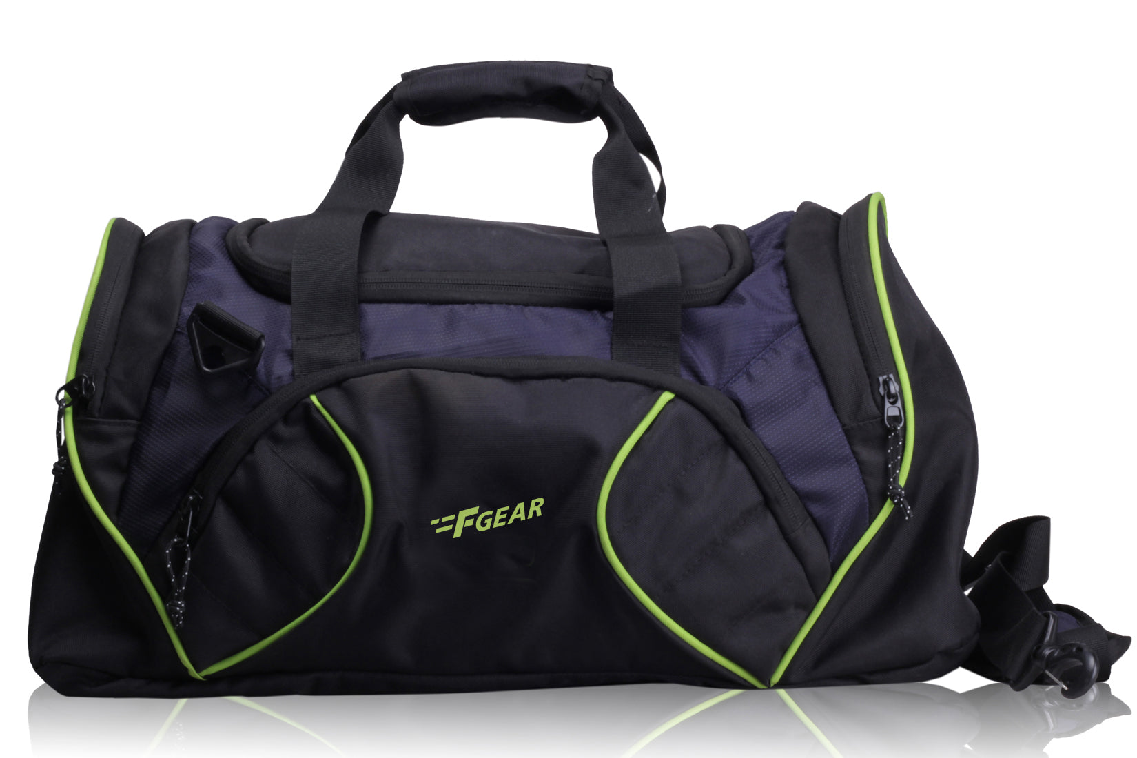 F Gear Metro Polyester 33 Ltrs Blue Travel Duffle (2282)