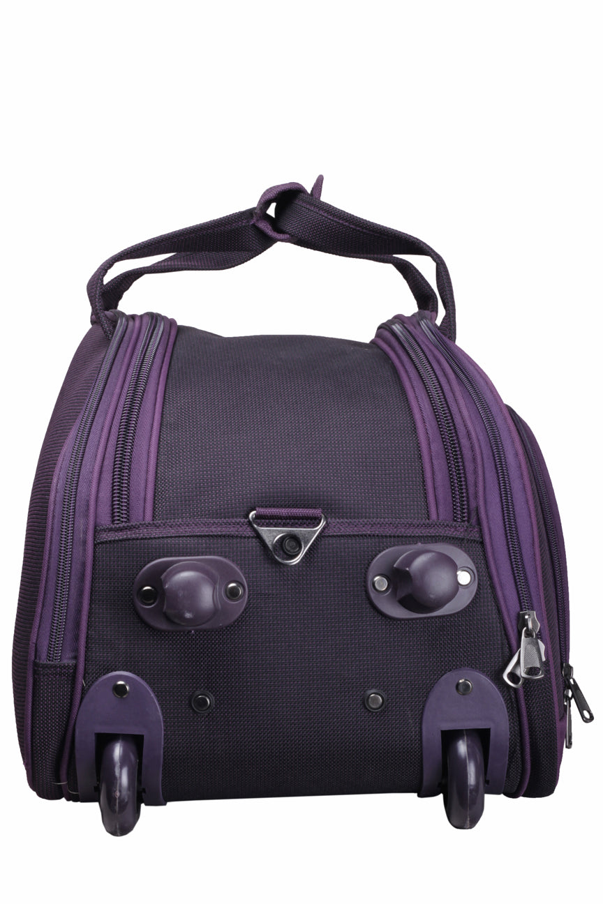 "F Gear Cooter 22"" Polyester 61 Ltrs Purple Travel Duffle (2392)"