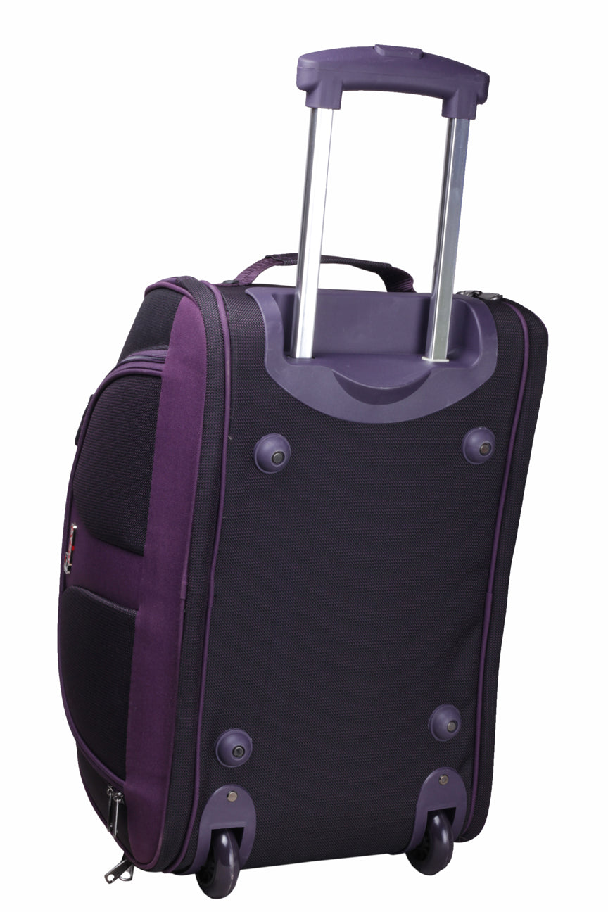 "F Gear Cooter 20"" Polyester 46 Ltrs Purple Travel Duffle (2391)"